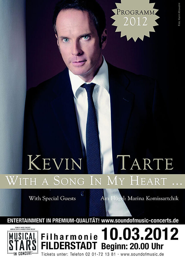 With a Song in my Heart: Kevins gefeiertes erstes Solo-Programm